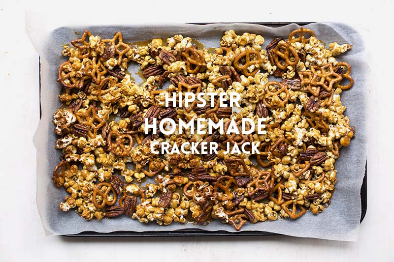 Hipster Homemade Cracker Jack! | The Sugar Hit