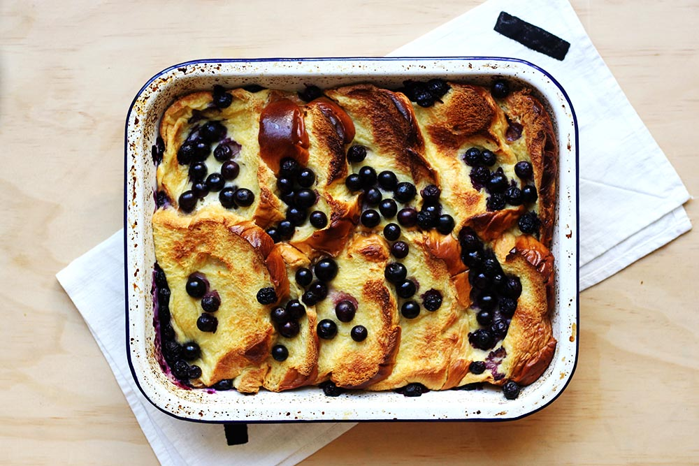 Baked Blueberry French Toast // The Sugar Hit