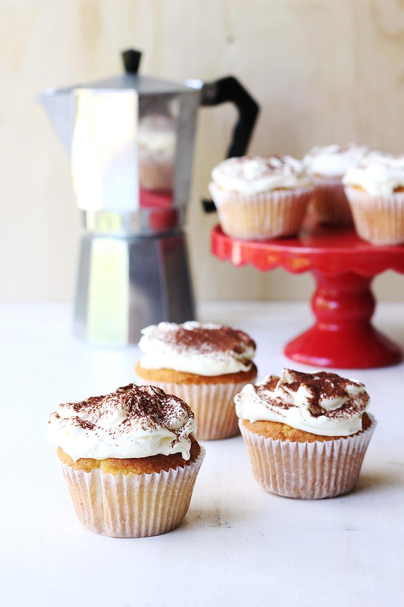 Tiramisu Cupcakes // The Sugar Hit