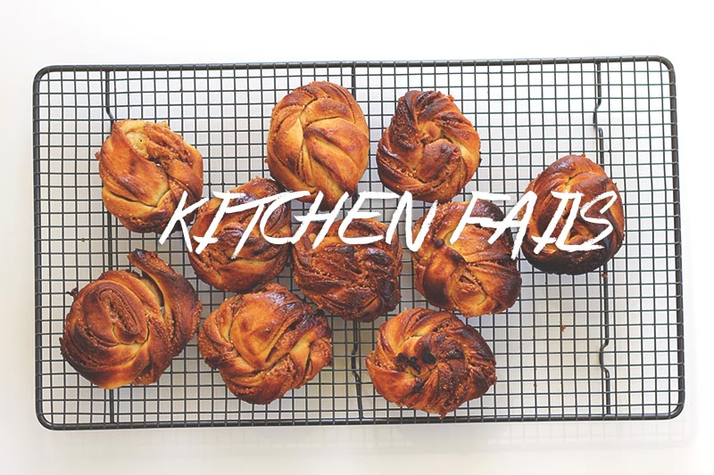 Kitchen Fails // The Sugar Hit