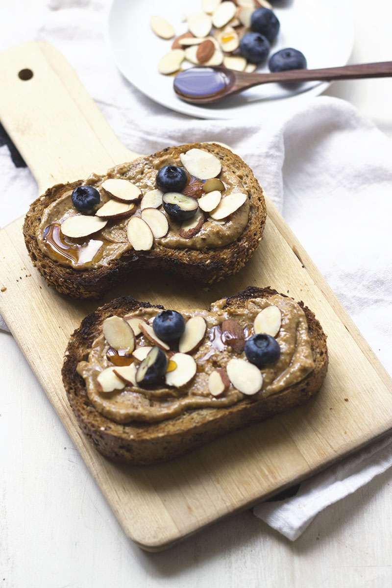 Blueberry Almond Sleepy Toast // The Sugar Hit