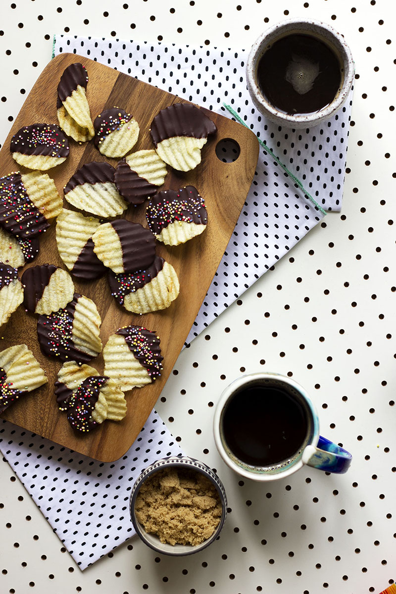 Choc-Dipped Salt and Vinegar Party Chips! // The Sugar Hit