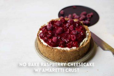 No-Bake-Raspberry-Cheeesecake-with-Amaretti-Crust-1