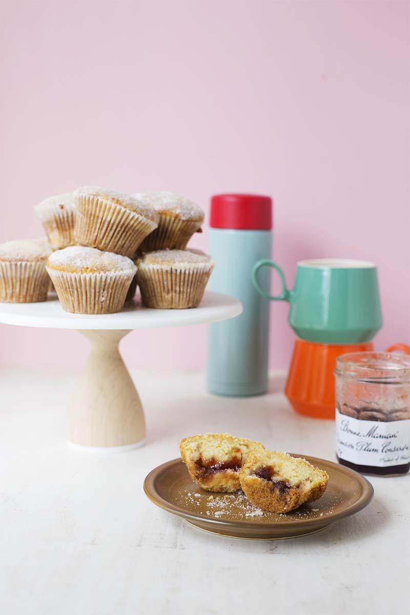 Paczki Muffins // The Sugar Hit
