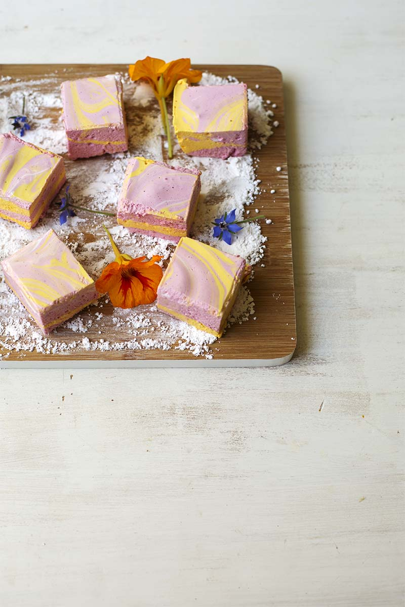 Passionfruit Raspberry Marshmallow // The Sugar Hit