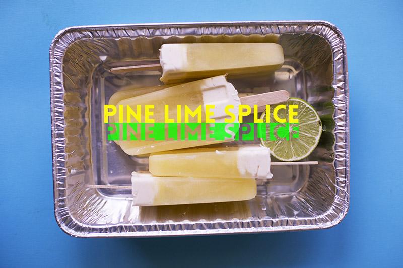 Pine Lime Splice Pops! // The Sugar Hit