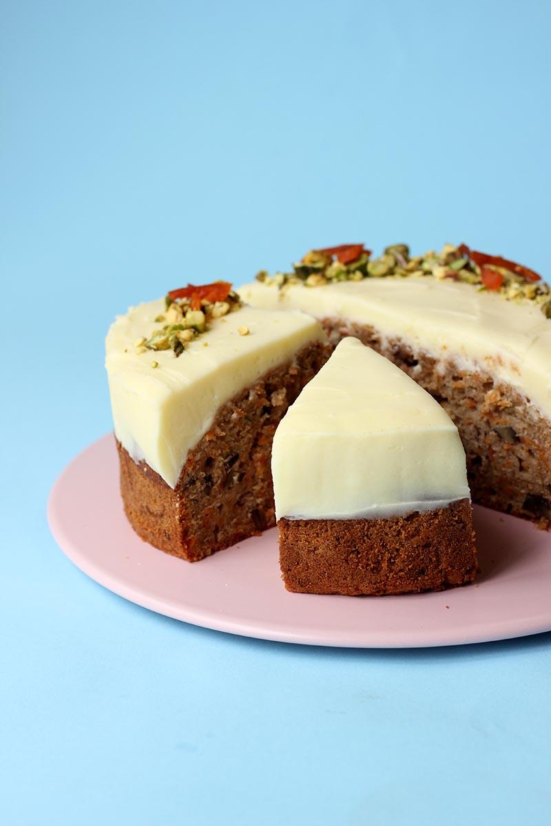 Light Not So Sweet Carrot Cake Icing