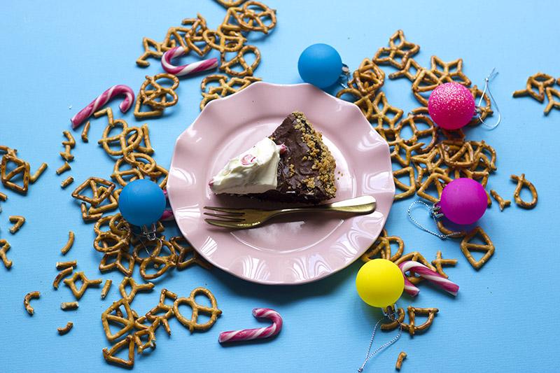 Pretzel Crust Brownie Pie // The Sugar Hit