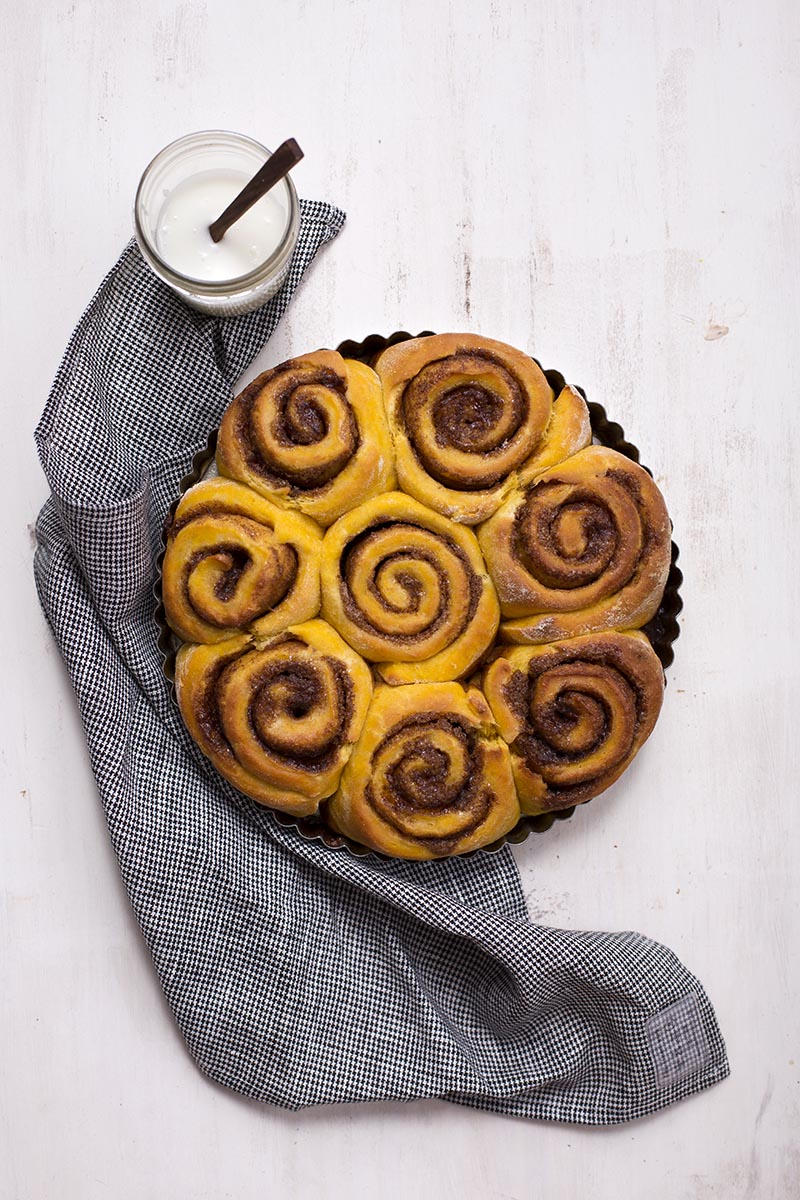 Super Soft Pumpkin Cinnamon Buns