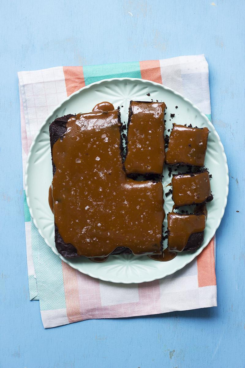 Salt and Pepper Caramel Brownies // The Sugar Hit