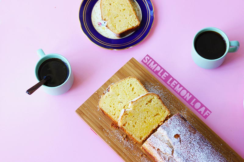 Simple Lemon Loaf // The Sugar Hit