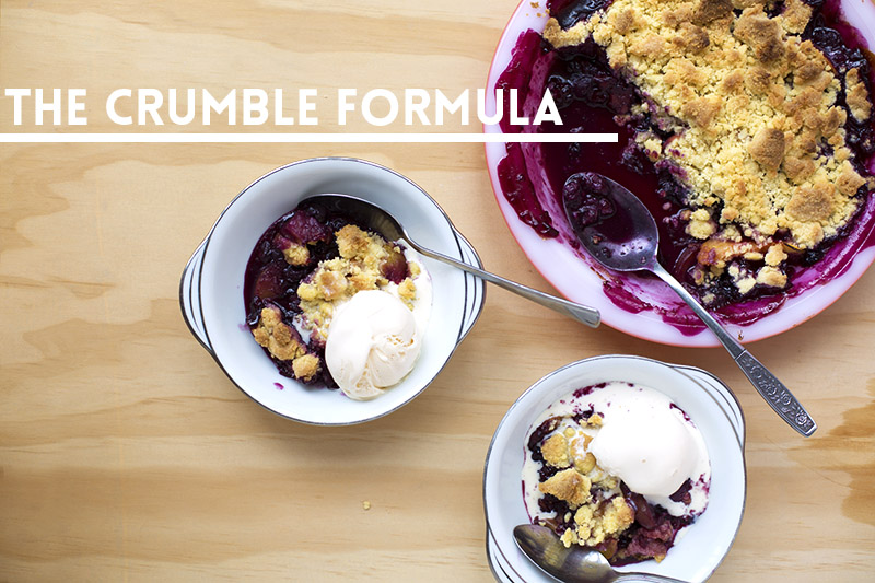 The Crumble Formula // The Sugar Hit