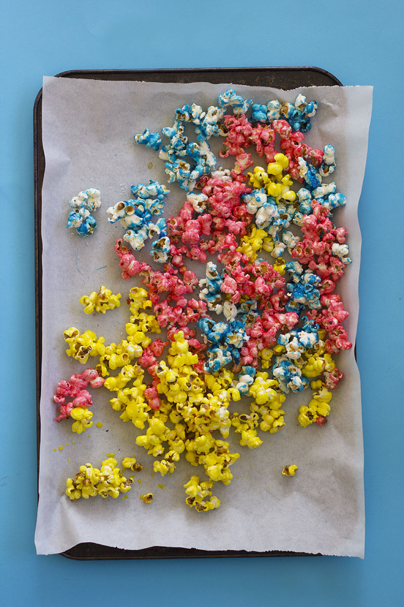 Unicorn Popcorn Rocky Road // The Sugar Hit
