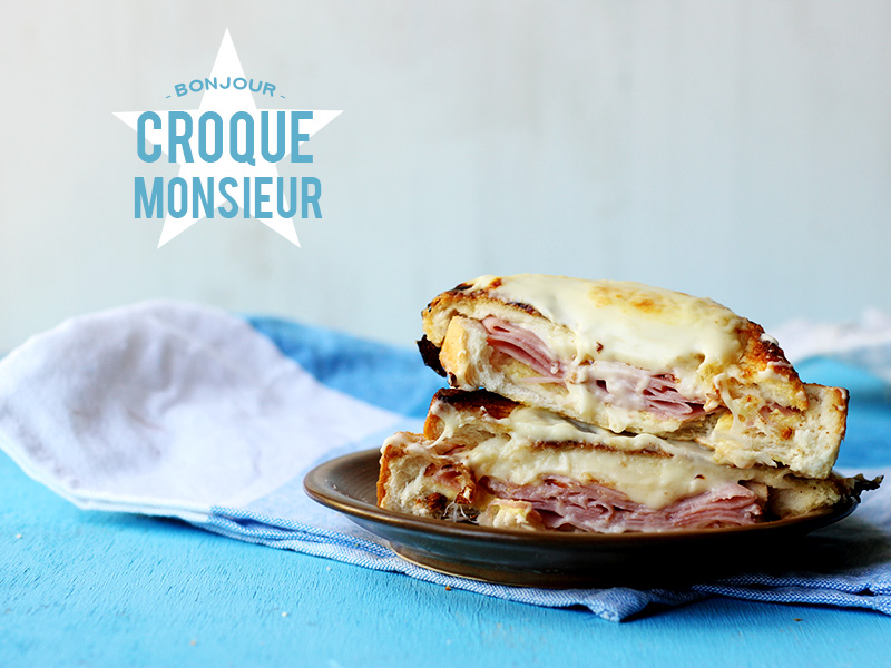 Croque Monsieur! // The Sugar Hit