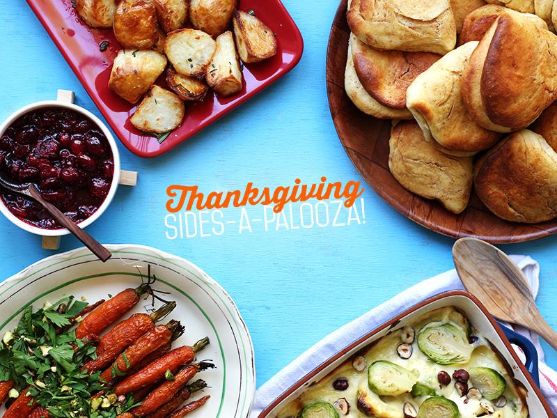 Thanksgiving Sides-A-Palooza! | The Sugar Hit