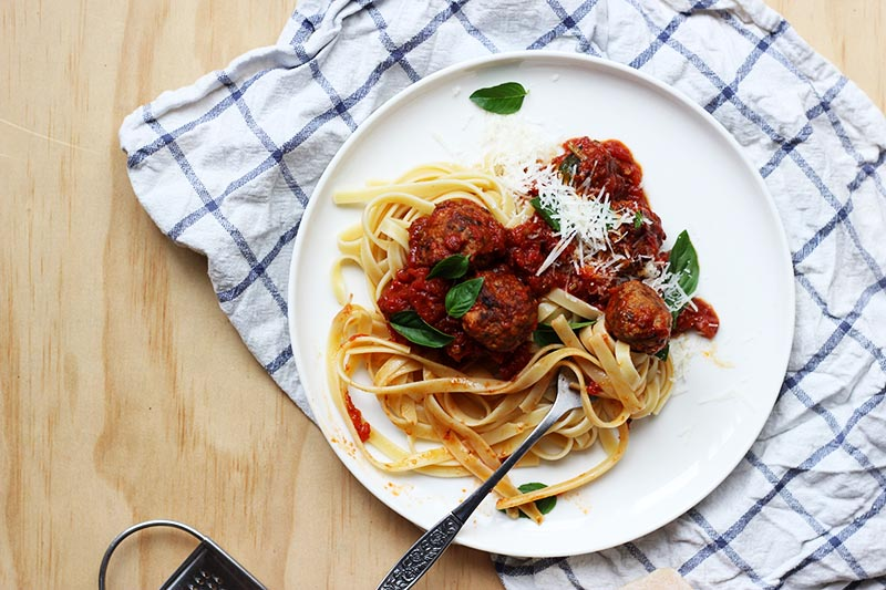 Let's Make...Spaghetti and Meatballs! // The Sugar Hit