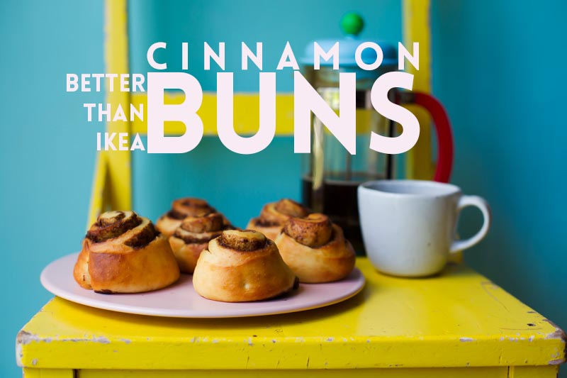 Better than IKEA Cinnamon Buns! // The Sugar Hit