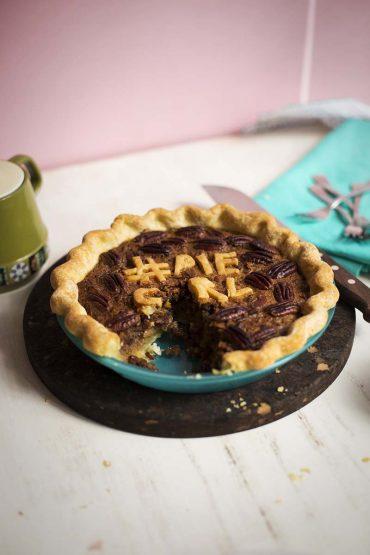 Vanilla Bean Pecan Pie // The Sugar Hit